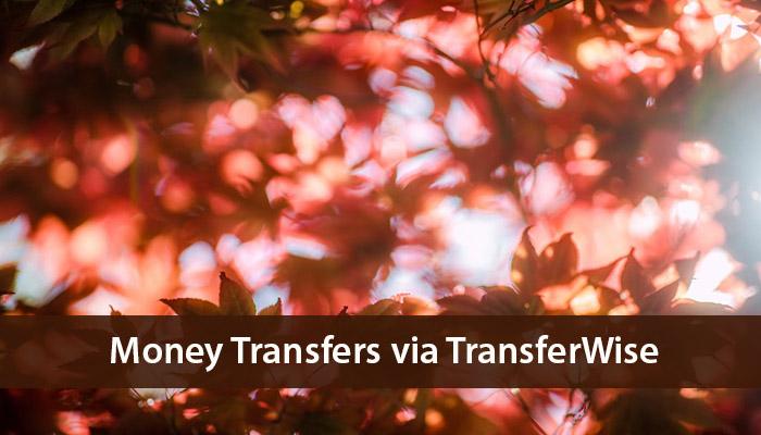 money transfers via transferwise