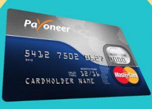 о payoneer: долларовая карта MasterCard